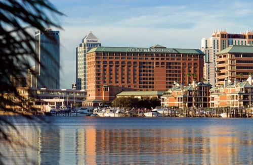 Harbor view at the Westin-Tampa