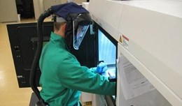 UL AMCC student cleaning machine