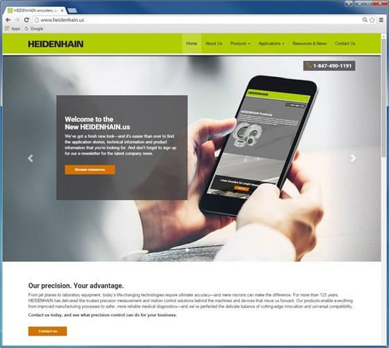 Heidenhain web portal