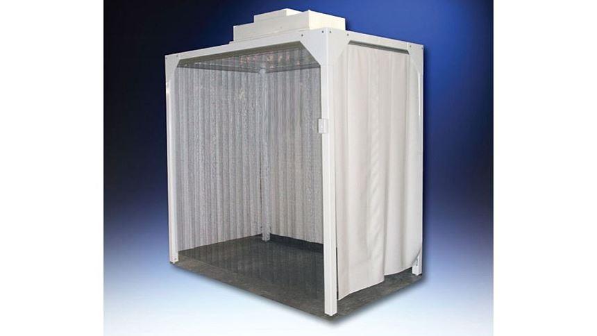 Hemco soft-wall cleanroom
