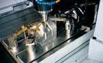 High precision hard milling