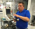 Niagara Cutter Production Manager Kevin Toven leads tour of Reynoldsville, Pennsylvania plant