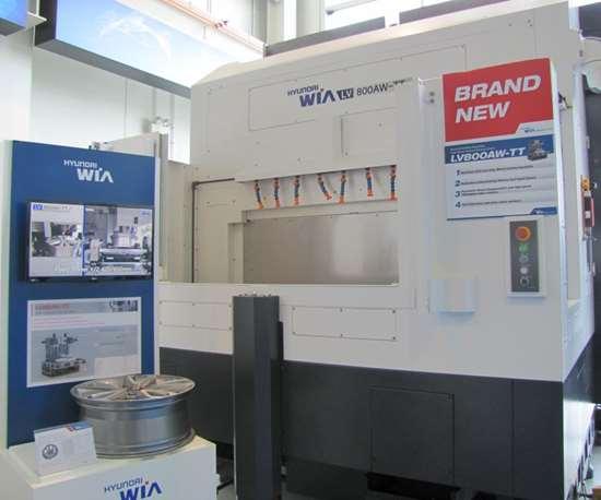 LV800AW-TT vertical turning center