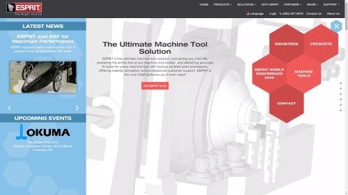 espritcam.com homepage