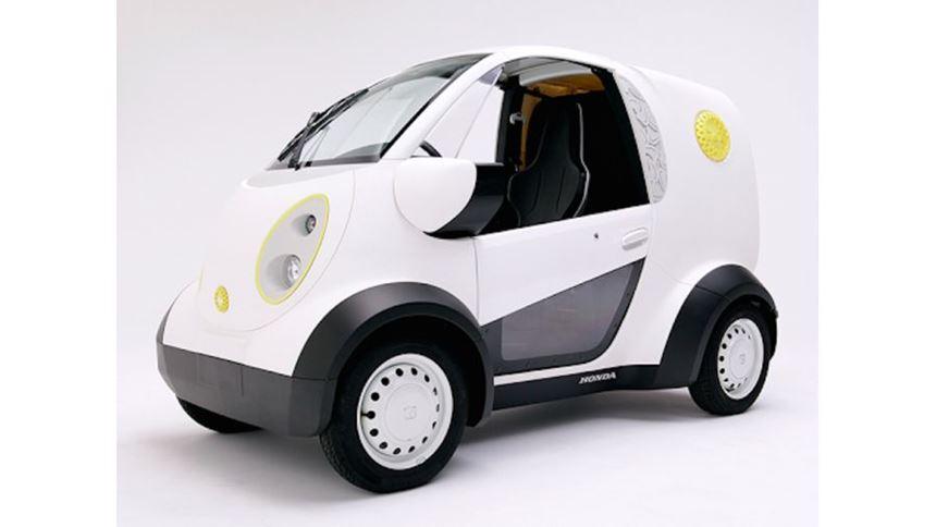 Honda 3D-printed car