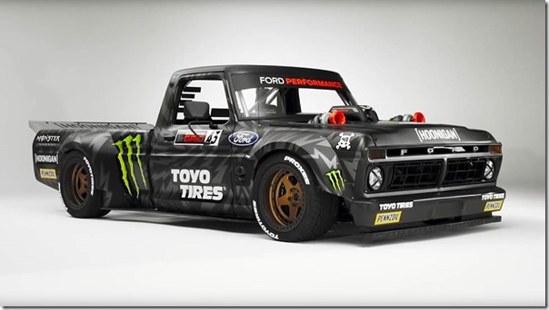 Ford Engineers Make Record-Breaking 3D Part to Help Bring Ken Block's 'Hoonitruck' to Life