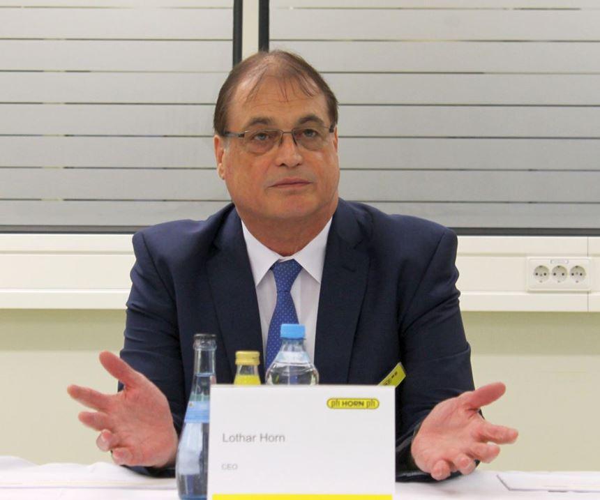 Horn Managing Director Lothar Horn