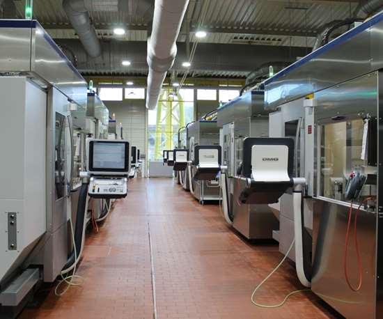 DMG MORI grinding cells