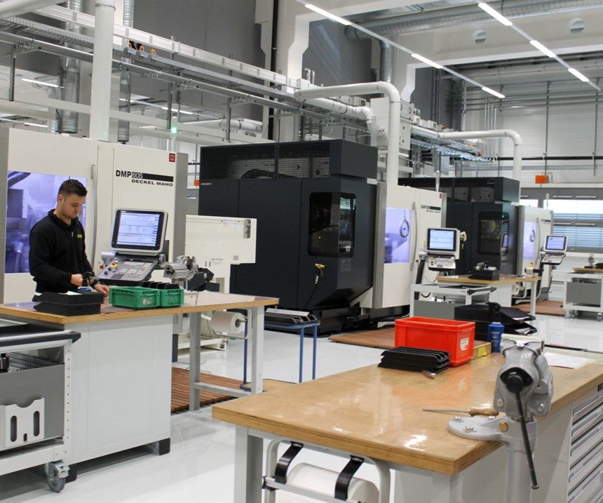 The new Horn factory is dedicated to the manufacture of toolholders.