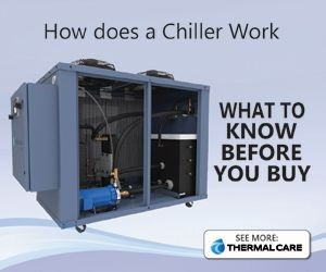 how an industrial chiller works