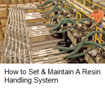 How to Set and Maintain Resin Handling System