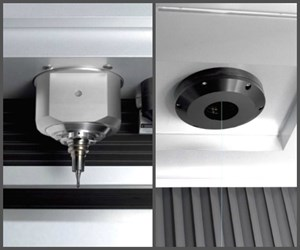 Milling spindle and fiber optic laser