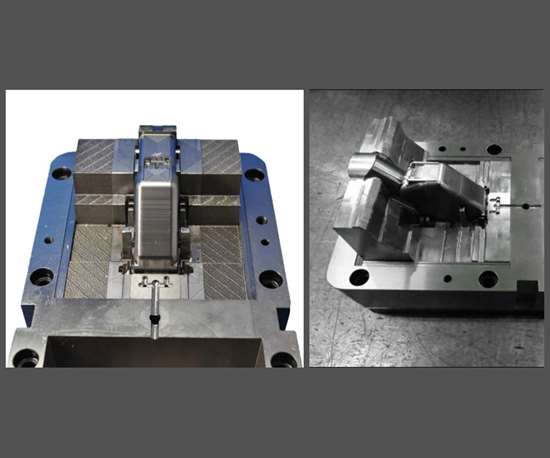 Traditionally manufactured mold core and hybrid mold core