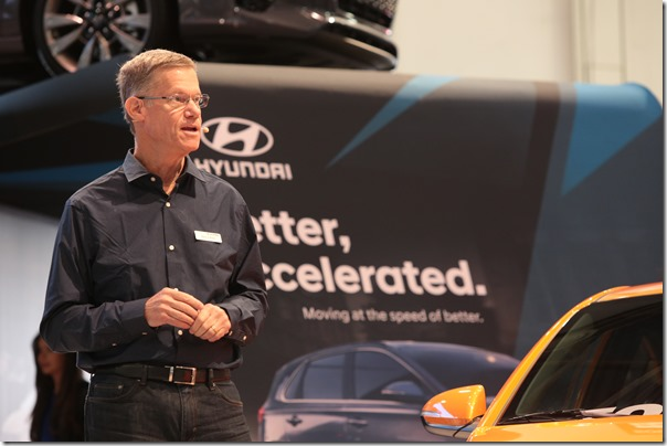 Hyundai Press Event at the Specialty Equipment Market Association (SEMA) Show in Las Vegas.