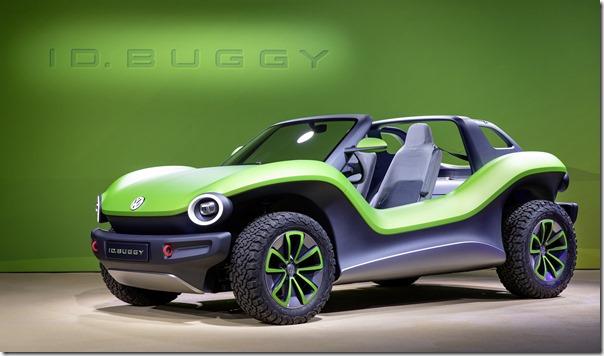 Volkswagen ID. BUGGY Showcar at the Geneva Motor Show2019