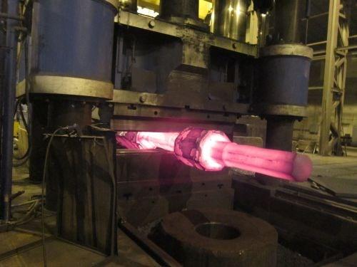 forging a gear pinion shaft