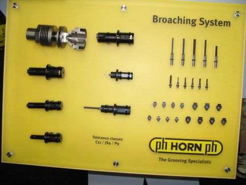 Horn broaching
