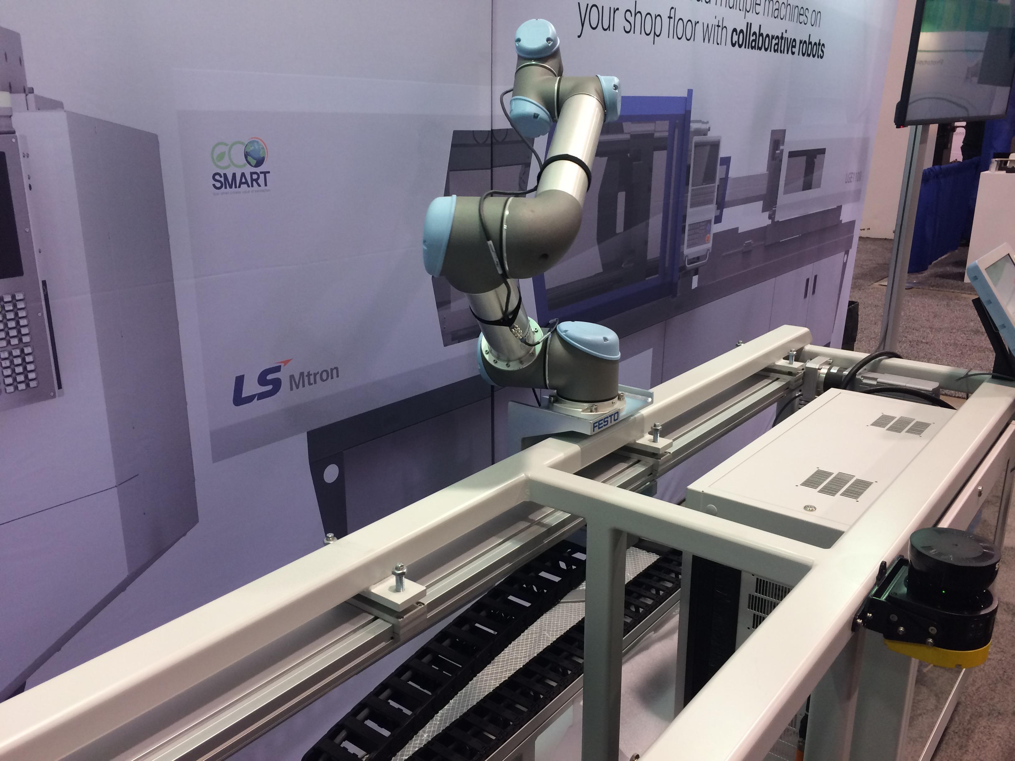 universal robots 7 axis cobot