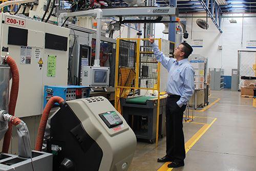 Román Rivas, director de planta de MGS Chihuahua.