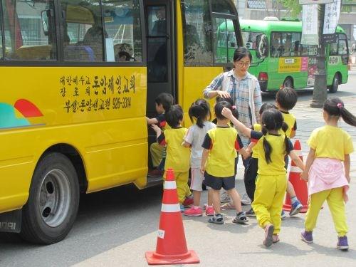 korea school bus зурган илэрцүүд