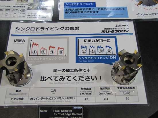 Okuma tool edge control