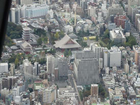 view from the Tokyo Sky Tree