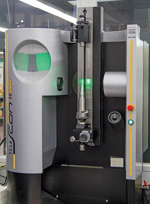 tesa scan 50 plus collimated parallel laser