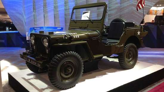 3D-printed Willys Jeep