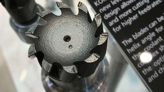 Komet 3D-printed milling cutter