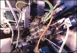 Index S32 CNC multi-spindle slide arrangement