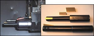 Indexable-insert broaching tool