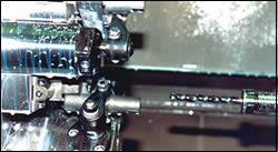 Injector bodies being machined