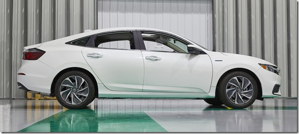 Honda Launches All-New 2019 Insight Sedan into Production in Indiana
