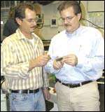 Inspect a finish ground cutter