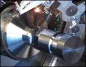Integral laser units