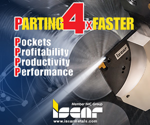 Iscar Parting 4x Faster