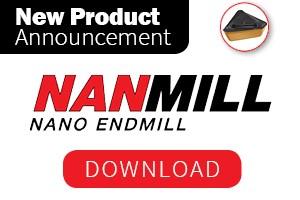 Iscar New Product Announcement: NanMill Nano Endmill