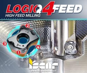 Iscar LOGIQ4Feed High Feed Milling