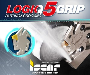 Iscar LOGIQ5Grip Parting and Grooving