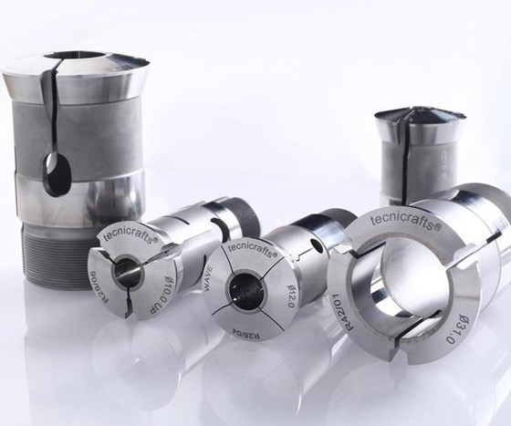 Tecnicrafts Industries' collets and guide bushings