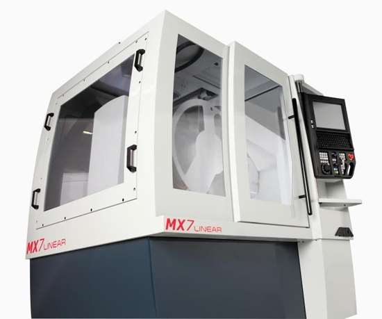 ANCA's MX7 grinder with LinX linear motor technology