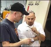 Jason Beerens (left) and Josh Jeffers