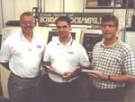 Jeff Stone, JR Hommer and Tom Senger
