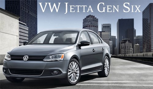 VW Jetta Gen Six