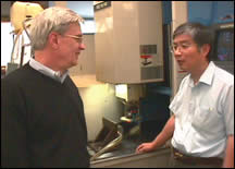 Jim Greenwood and Dr. Yung Shin