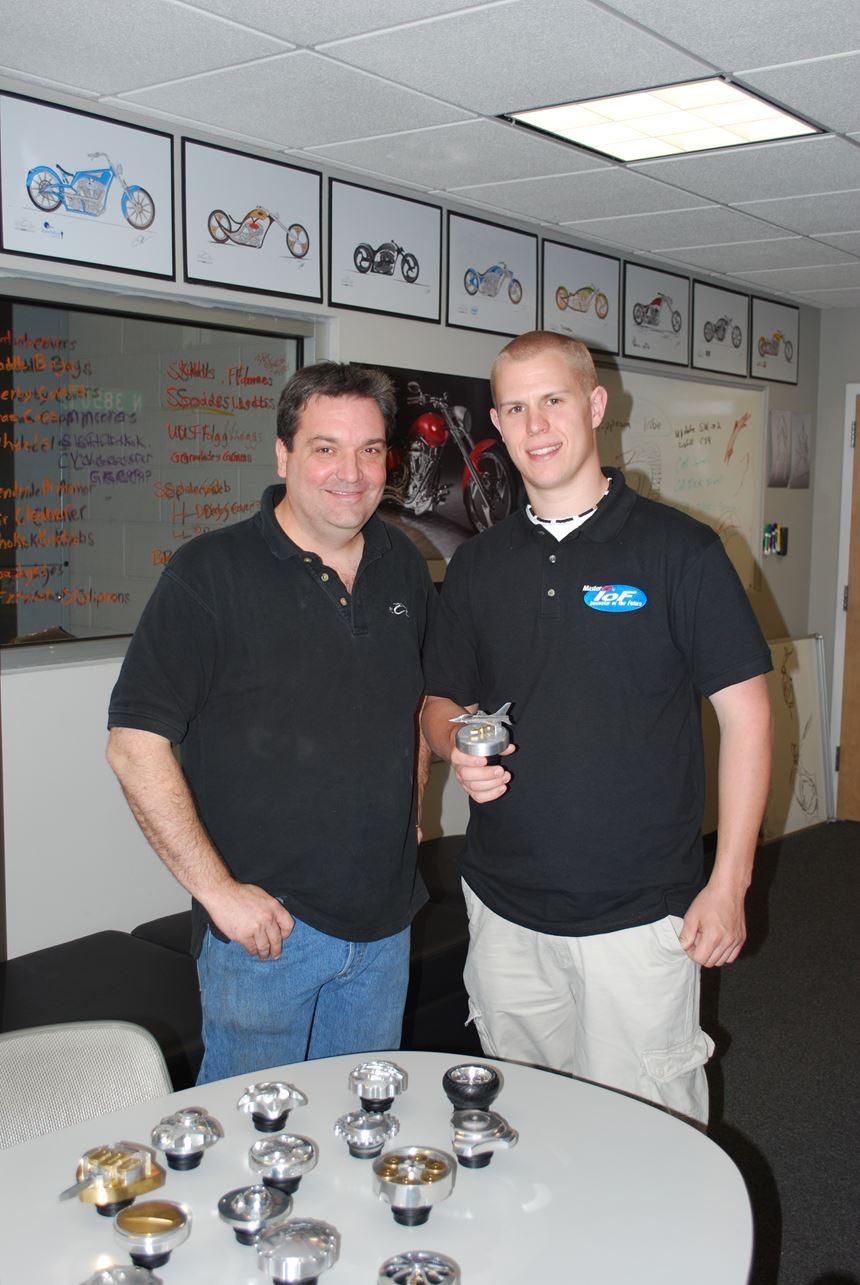 Jim Quinn and Justin Amos