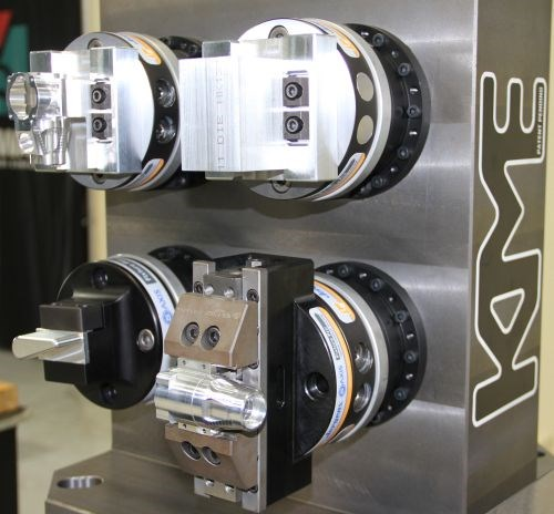 fifth-axis workholding device