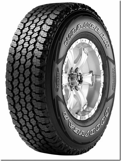 A Note About Wrangler Tires image