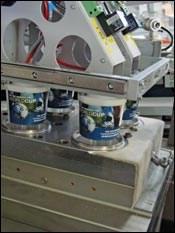 Kiefel's tilt-mold IML system