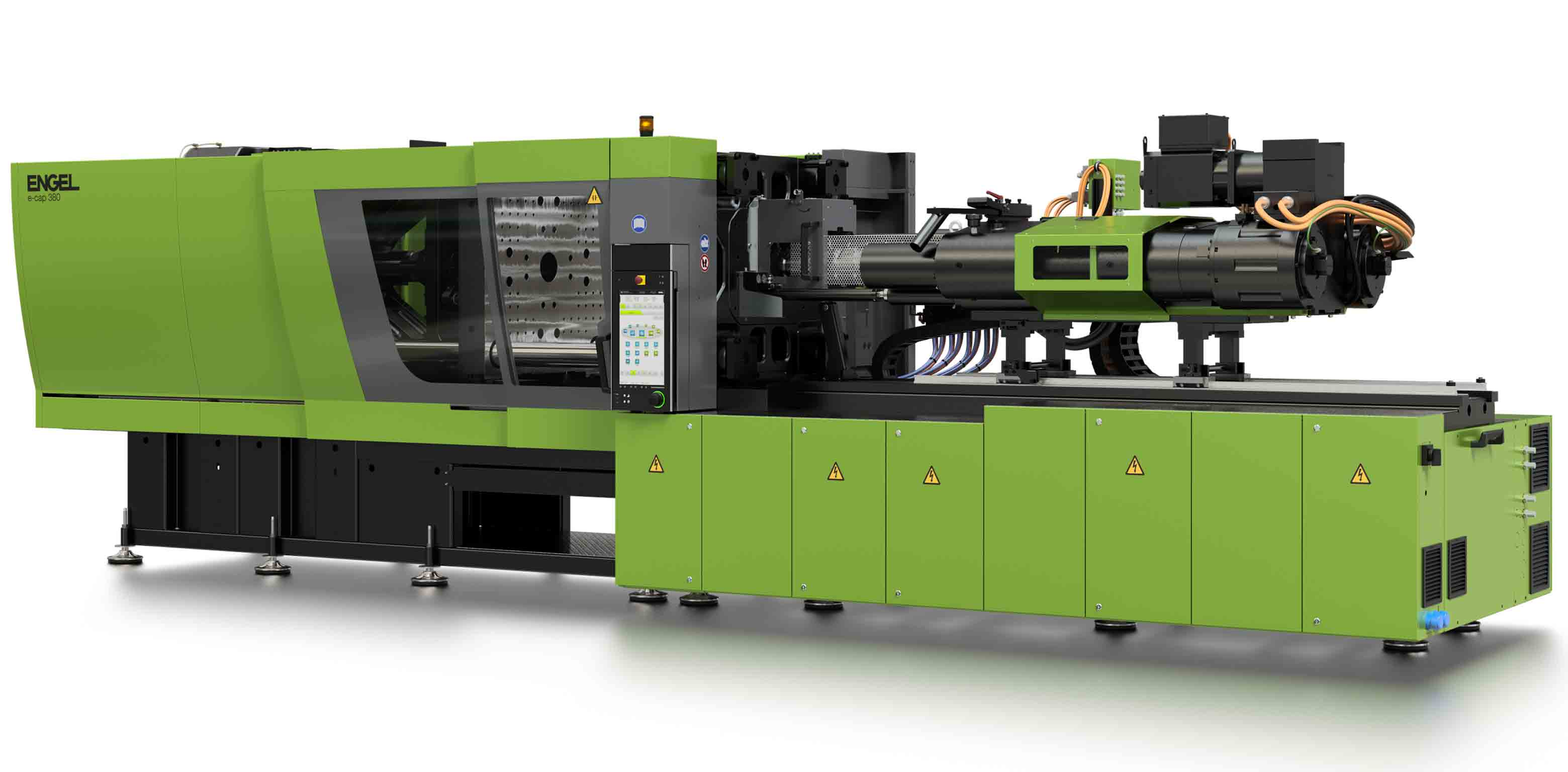 All Electric Injection Molding Machine by ENGEL